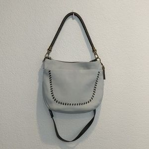 The Sak Varano Sky Blue Bucket Bag